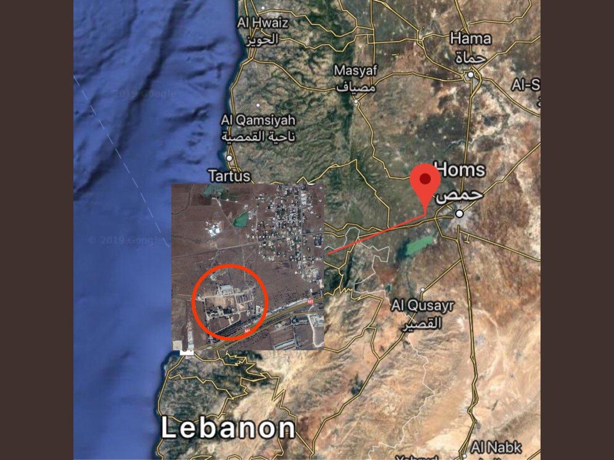 """موقع إسرائيلي: القصف على """"مصياف"""" السورية دمر صواريخ إيرانية من نوع """"زلزال 2"""" D4Cm26tU8AA2l1n"""