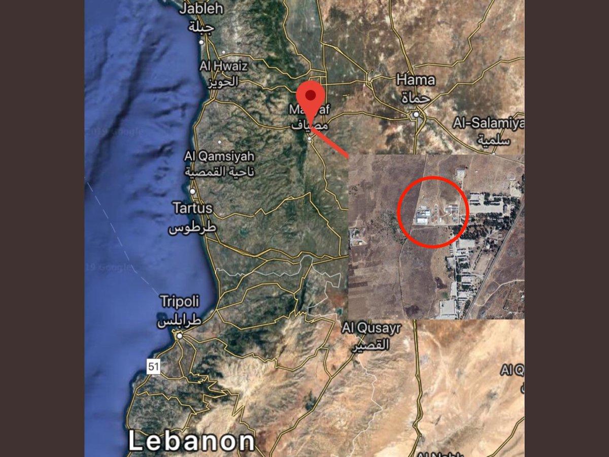 """موقع إسرائيلي: القصف على """"مصياف"""" السورية دمر صواريخ إيرانية من نوع """"زلزال 2"""" D4Cm26zUUAA-ZWT"""