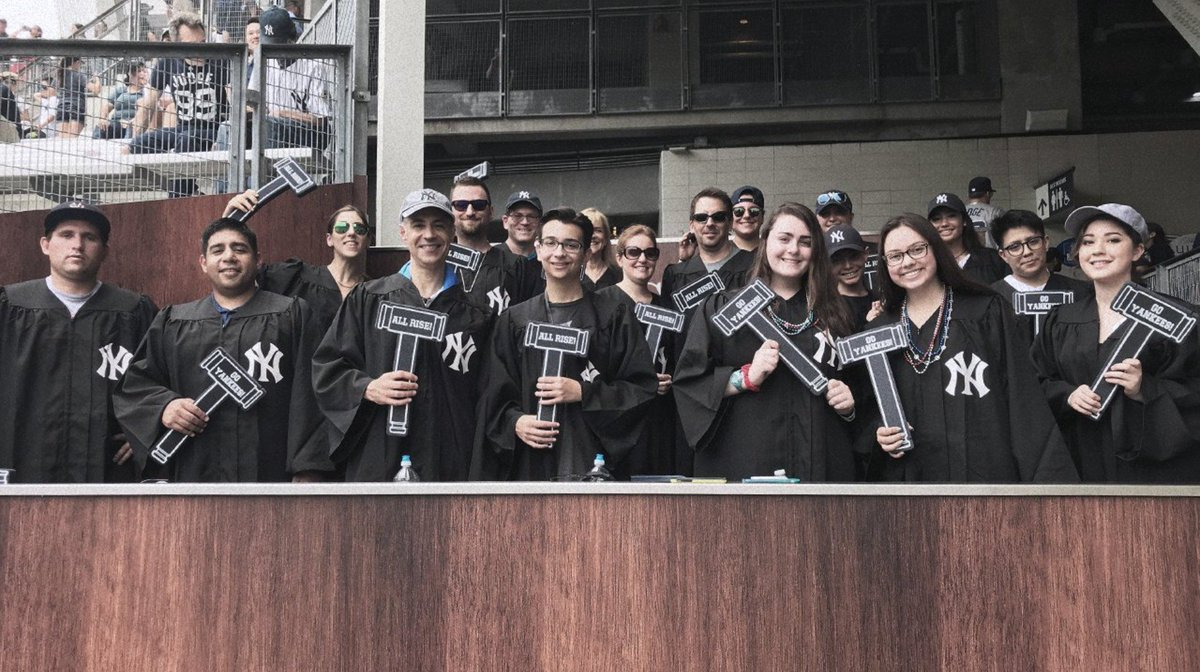 New York Yankees On Twitter The Judge S Chambers Are Better With A Buddy If You Had 2 Tickets To Sit In The Judge S Chambers Who Would You Bring And Why Tell
