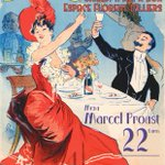 Image for the Tweet beginning: Diner Guinguette Marcel Proust @ICombray