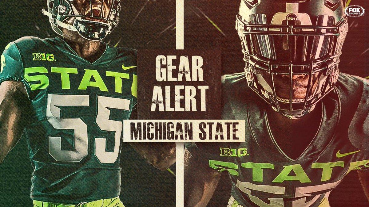 Michigan State reveals new alternate unis for 2019 (via @MSU_Football)