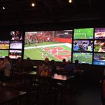 Spring Football Fever! Experience the Nebraska Spring Game at 1pm with us at DJ's Dugout! Delicious food, great drinks, & wall-to-wall media screens!