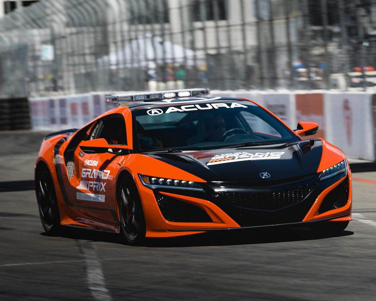 The green flag has dropped. See you in 100 minutes. #NSX #AGPLB