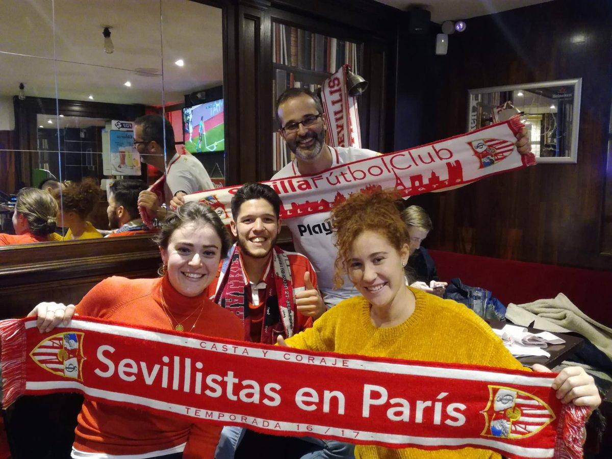 #paris es #sevillista #ElGranDerbi #sfcparis #sevillistasporelmundo