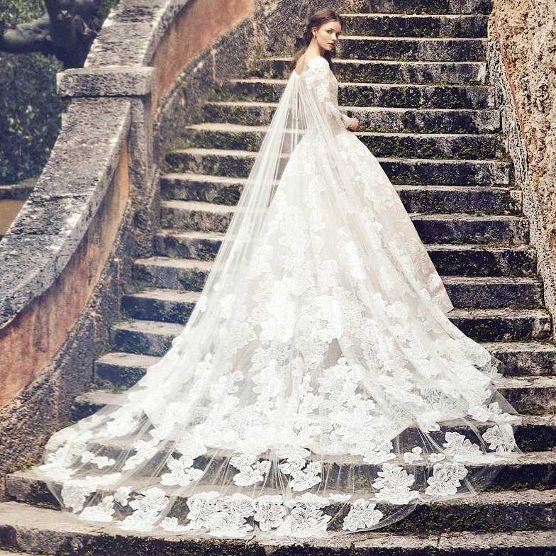 ff7476bea7 take a look at the monique lhuillier spring 2020 bridal collection