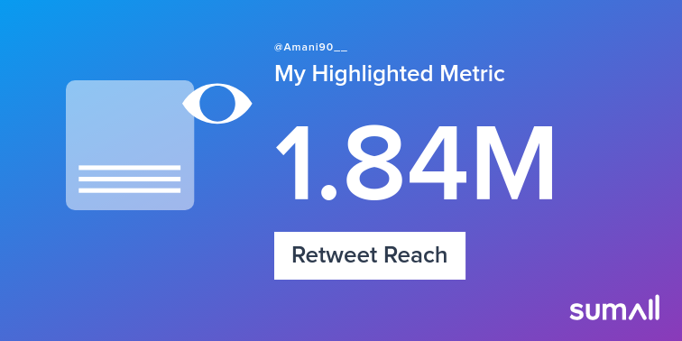 My week on Twitter 🎉: 373 Mentions, 7.1K Mention Reach, 4.5K Likes, 865 Retweets, 124 New Followers. See yours with https://t.co/v55k1xZFH7 https://t.co/Cpc5VRBjAS