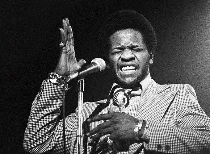 Happy birthday to The Reverend Al Green ( born on this day in 1946.