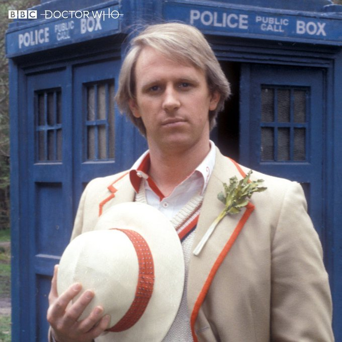 Happy Birthday Peter Davison. The 5th and (in my opinion) best Doctor of them all