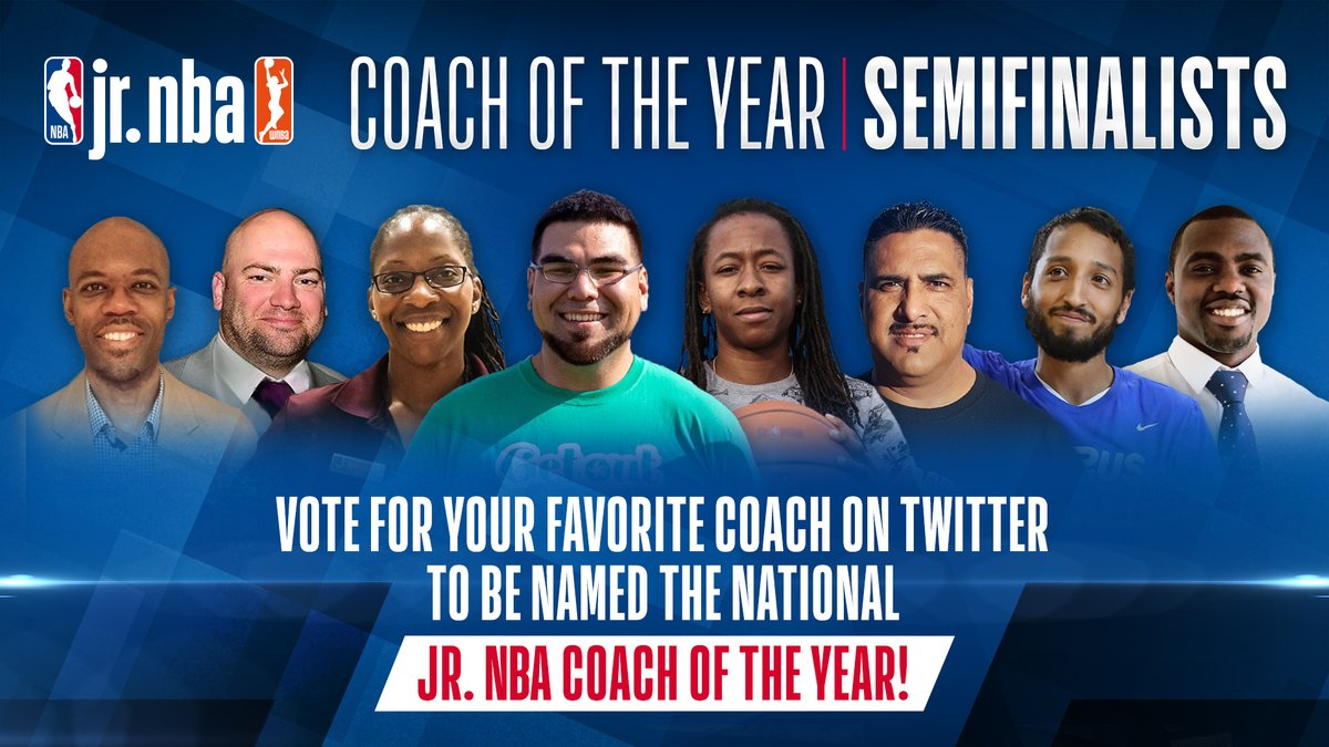 It is the LAST. DAY. to vote for #JrNBACOY‼️  Any tweet (or RT) including any of the 8 hashtags below ⬇️ is worth 2X a typical vote!  #JrNBACOYCHA #JrNBACOYDET #JrNBACOYLAS #JrNBACOYMEM #JrNBACOYMIA #JrNBACOYNYK #JrNBACOYPHX #JrNBACOYSAS  Learn more: https://on.nba.com/2Ga8z7J
