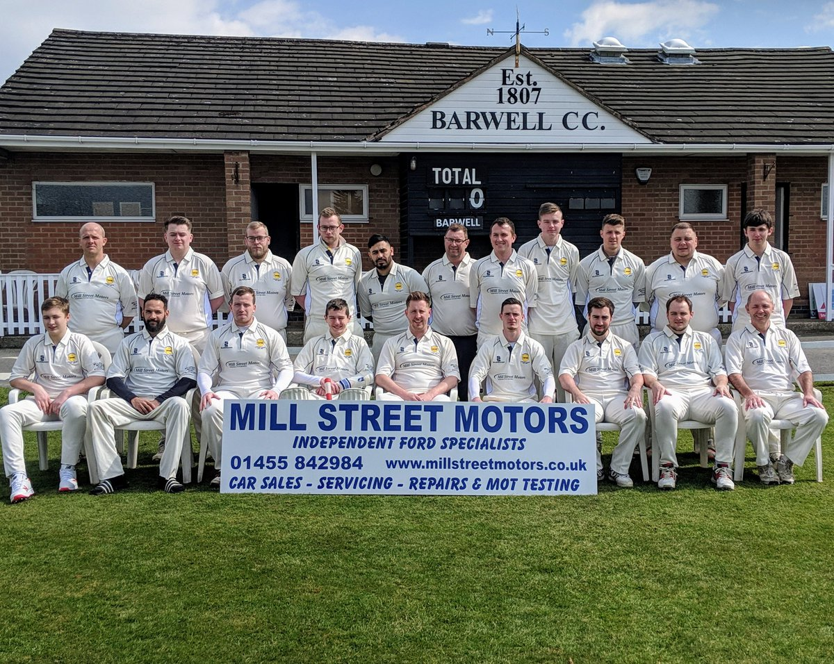 barwell cricket club on twitter barwell cricket club senior team playing shirts sponsored by mill street motors https t co eepmtg5ggl twitter
