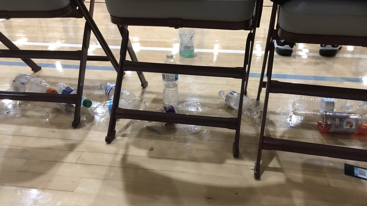 AAU coaches, players & parents - This is one of my biggest pet peeves. Clean up after yourselves. RT if you agree‼️