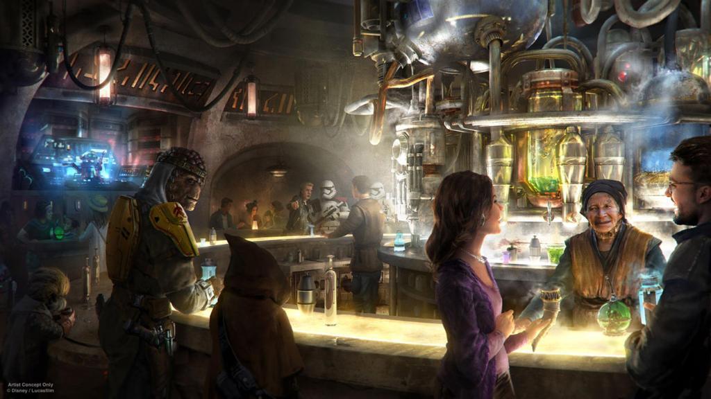 New Star Wars Disney attraction will spew soda from thermal detonators