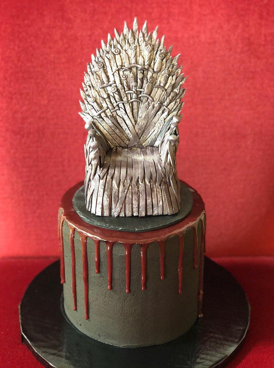 #Cake 🍰 Awesome of the Day: #Geek 🤓 ⚔ #ForTheThrone #GameOfThrones #GoT #GoTS8 #Birthdaycake 🎂 via @mike_enos #SamaGeek #SamaCake