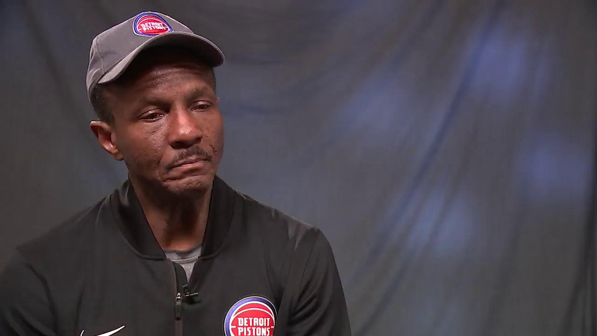 Pistons Playoffs Preview: In his first season in Detroit, Dwane Casey says this is only the first step. #DetroitBasketball