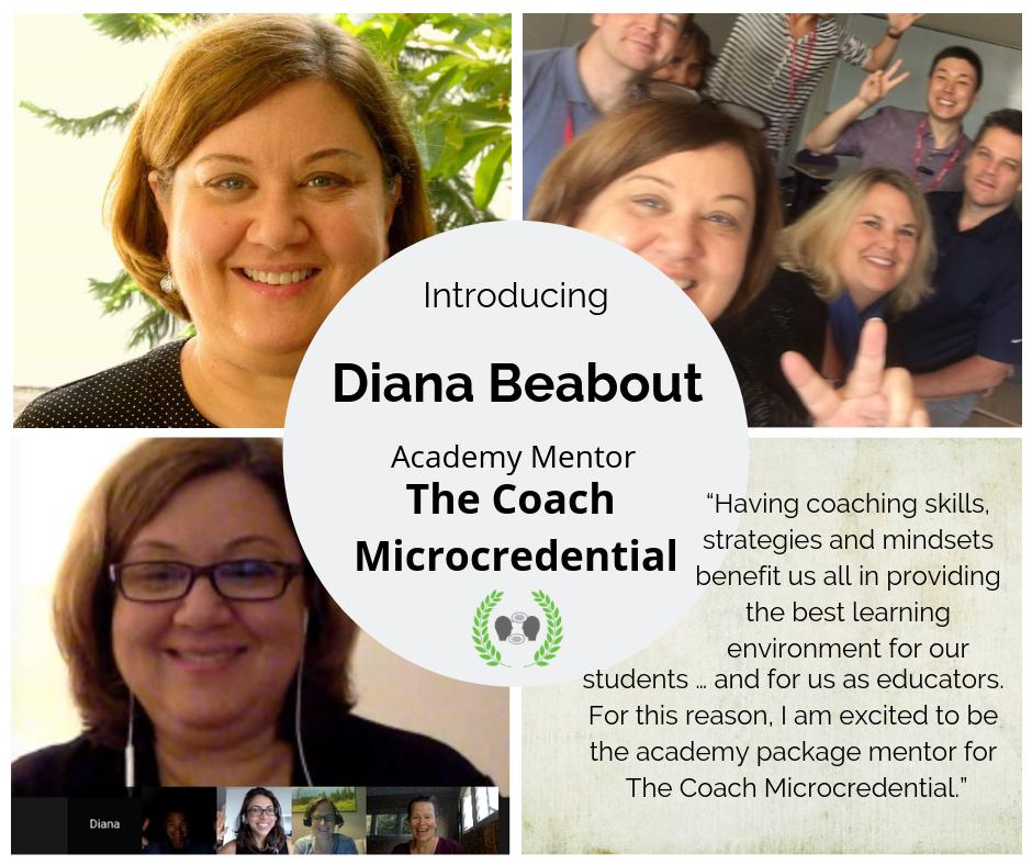 Meet @dianabeabout! Interested in having her as a mentor for an entire academic year to help you #coachbetter? Join The Coach Microcredential!  http://bit.ly/edurocoach  #EduroLearning #COETAIL #educoach #isedcoach #instructionalcoach #edchat #profdev #asiaed #etcoaches #edchat