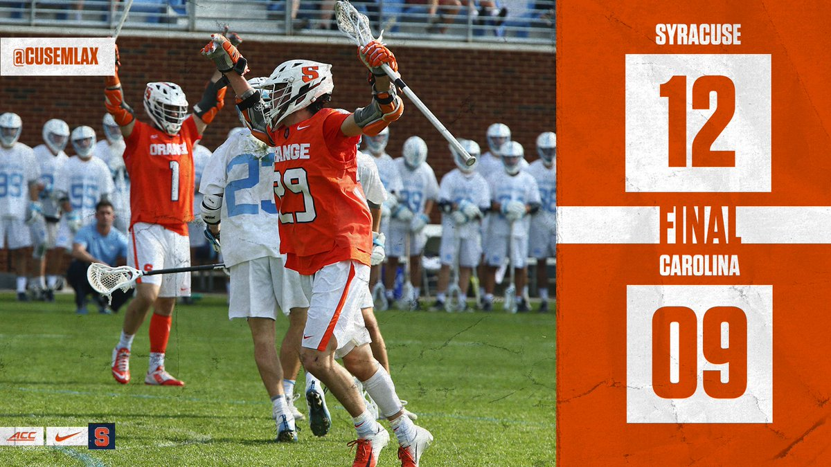 'Cuse cracks Carolina in ACC lacrosse finale