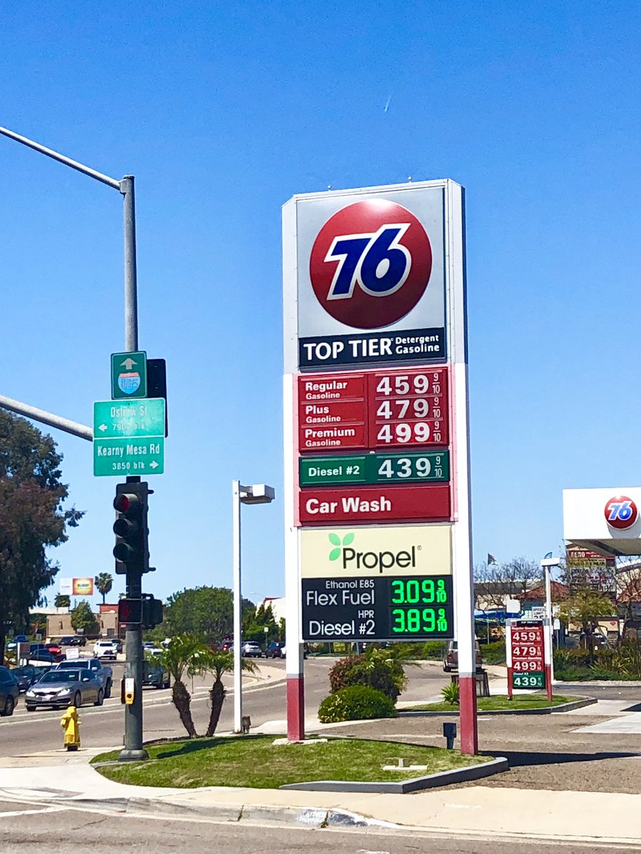 Gas Prices San Diego >> Heather Hope On Twitter Gas Prices In Sandiego Soar Above
