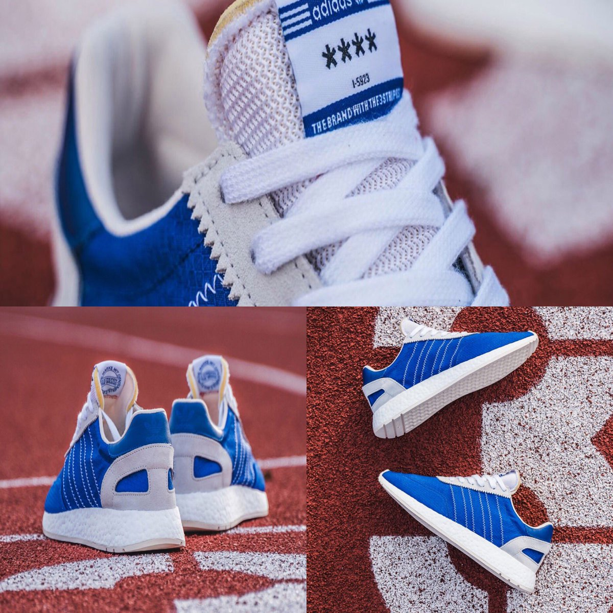 d02d87386c7e The adidas I-5923 Returns With Blue Nylon Uppers  sneakerhead   sneakersforlife  sneakersforsale