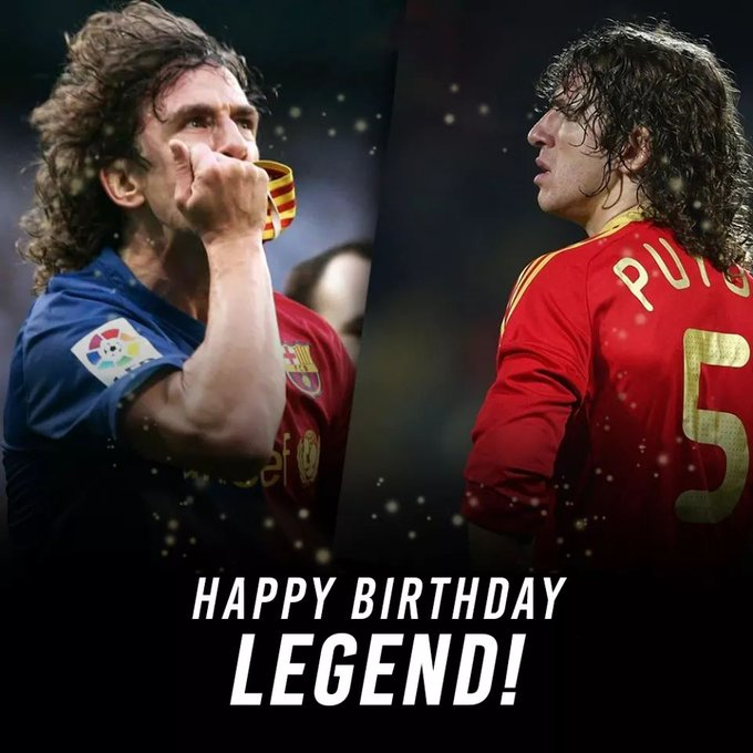Happy Birthday, Carles Puyol