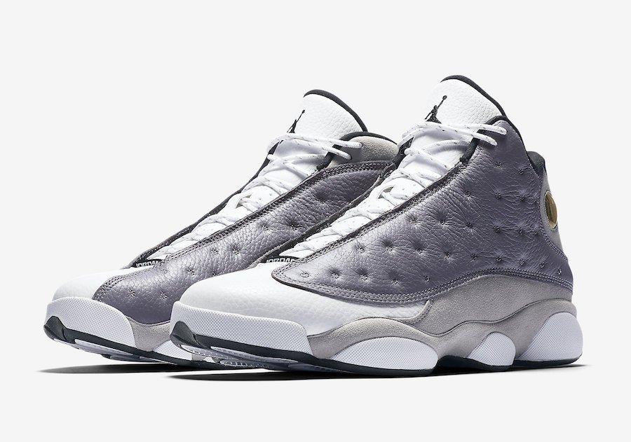 e9a27976a239  SneakerScouts The Air Jordan 13  Atmosphere Grey  is now available via   kicks usa