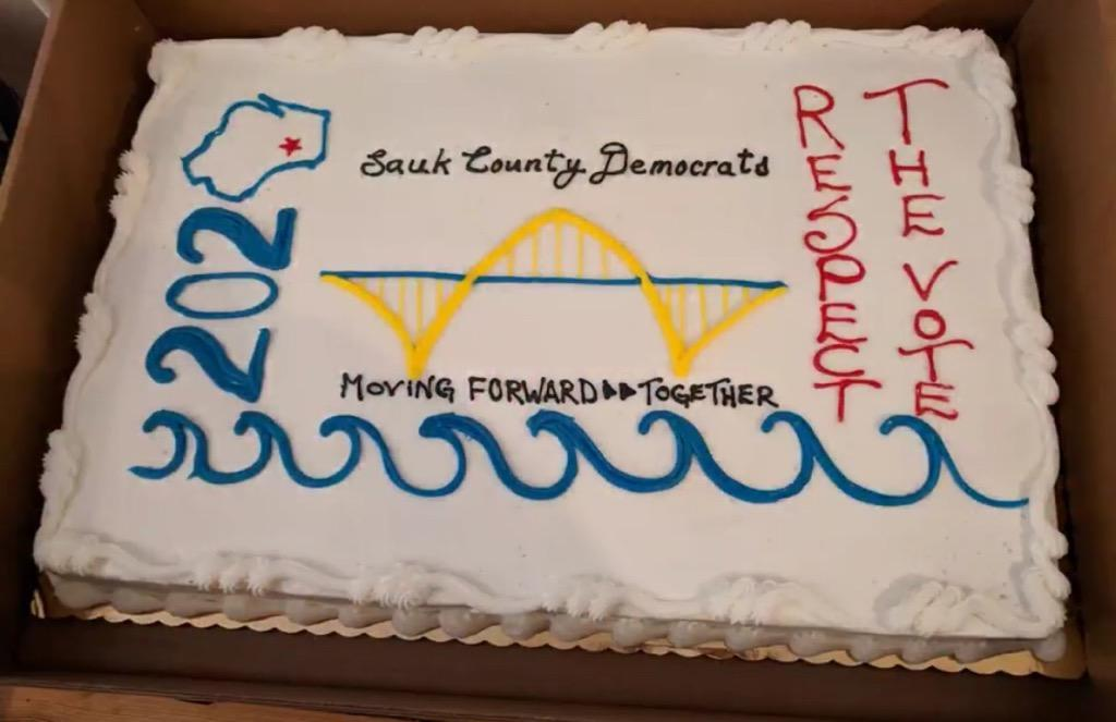 Congratulations to the Democratic Party of Sauk County on the Grand Opening of their permanent office in Reedsburg!