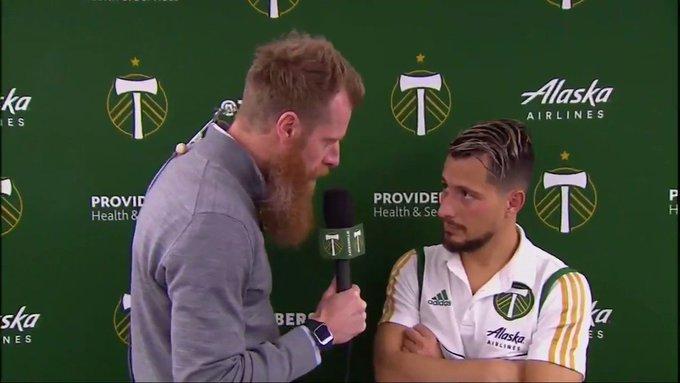 Timeline: FC Dallas vs  Portland Timbers 04/14/2019