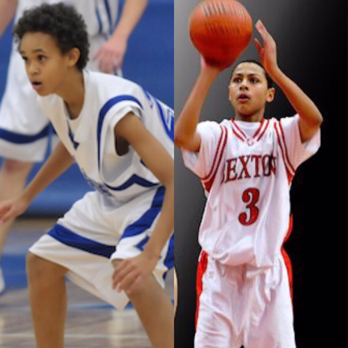 Starting backcourt that helped the Spurs get to the Playoffs for an NBA record-tying 22nd straight season.  Derrick White and Bryn Forbes as freshman in high school.