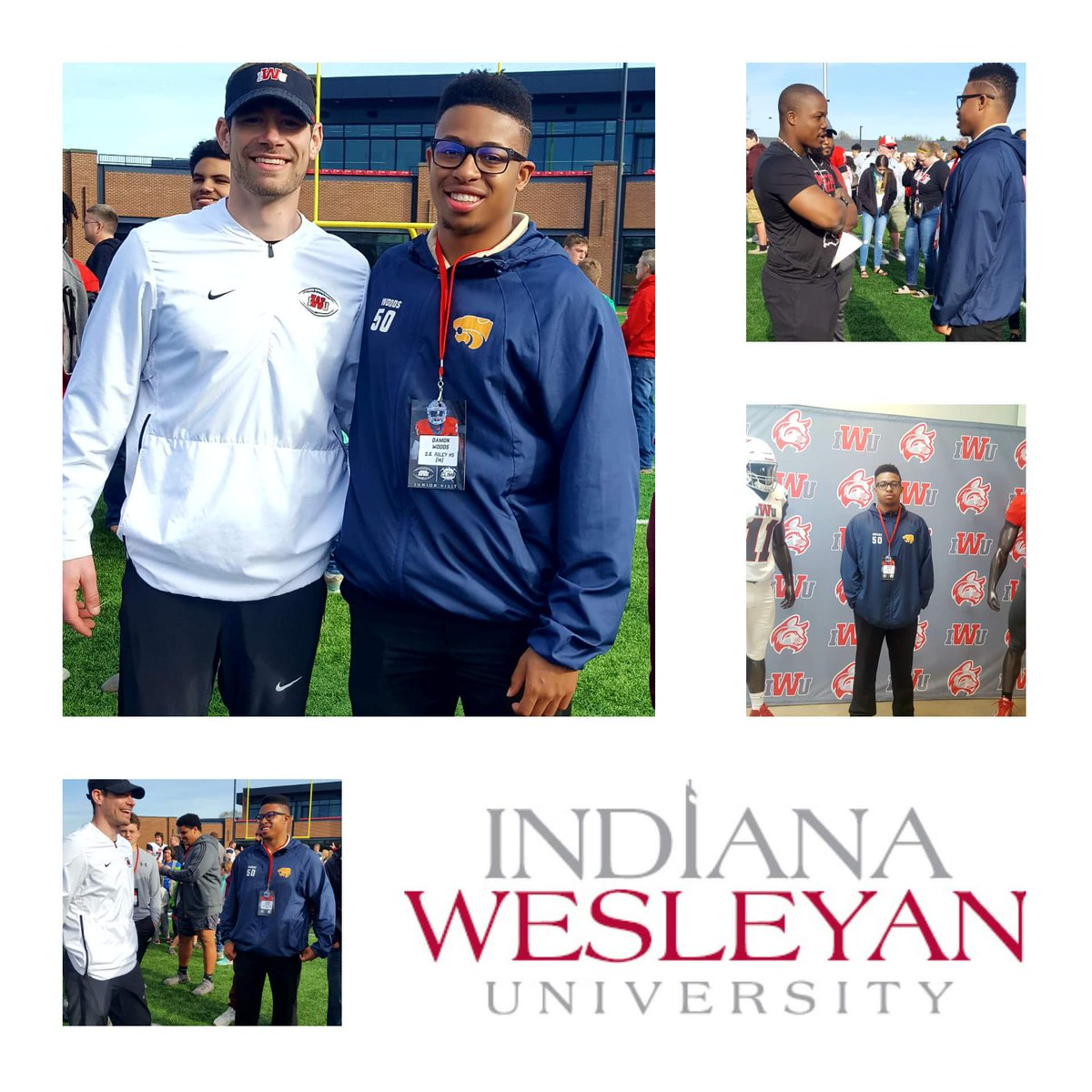 I had a wonderful time visiting  Indiana Wesleyan University for Junior Day. I appreciate @CoachKyleBuresh,  @CoachBuzzyB, and all the coaches for the good time today.