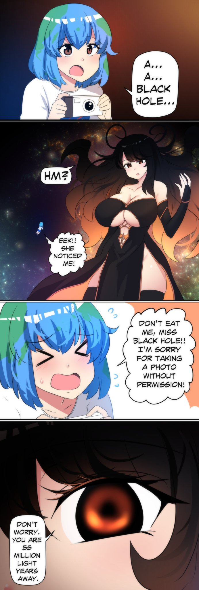 """Merry」🌴 on Twitter: """"I wrote a comic about Earth-Chan meeting a"""