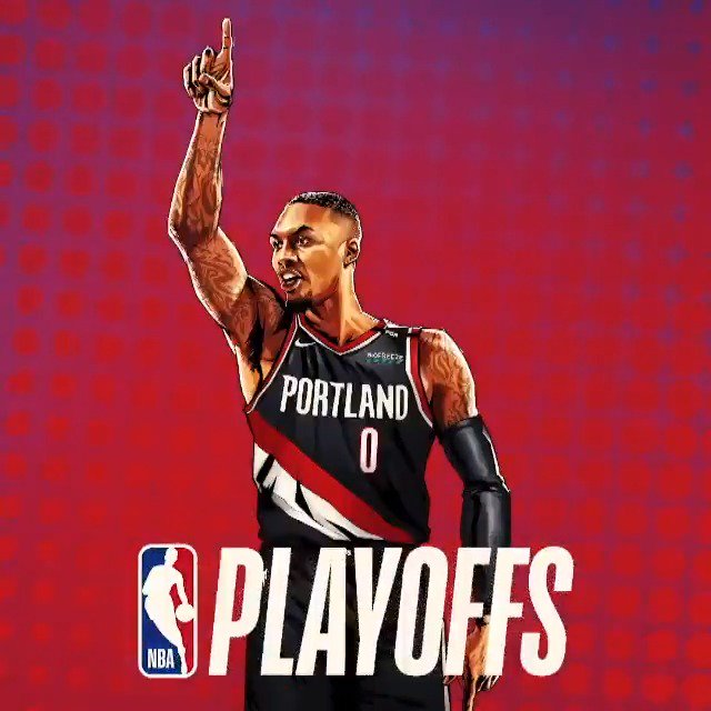 ⌚️'DAME TIME' ⌚️  @Dame_Lillard x #NBAPlayoffs   ��: (6) OKC vs. (3) POR, Game 1  ⏰: 3:30pm/et ��: #NBAonABC https://t.co/buHMUmldj3