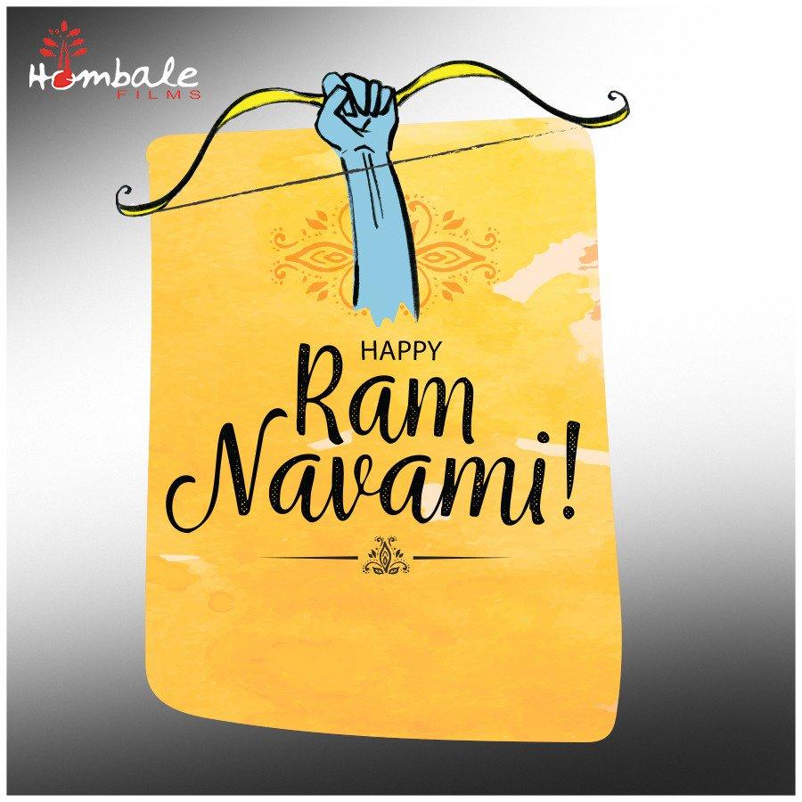ಸಮಸ್ತ ನಾಡಿನ ಜನತೆಗೆ ಶ್ರೀ ರಾಮ ನವಮಿಯ ಹಾರ್ದಿಕ ಶುಭಾಶಯಗಳು!  Greetings to all on the auspicious occasion of #RamNavami. May the divine blessings of Lord Ram brighten our lives.   #HappySriRamaNavami
