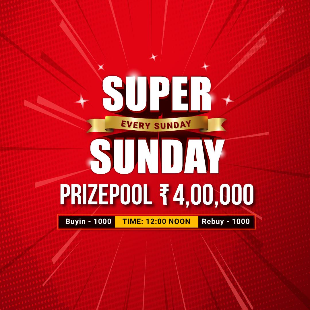Play #SuperSundays and win 1lakh every week #adda52 #rummy  https://www. adda52rummy.com/promotions/cam paign/super-sundays &nbsp; … <br>http://pic.twitter.com/vgyCWjQovX