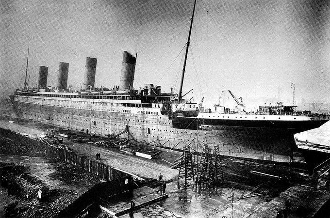 Construcción del buque RMS Titanic