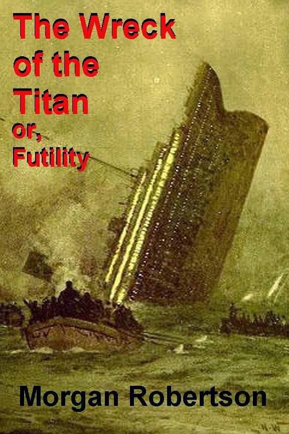 Portada de libro 'Hundimiento del Titán'