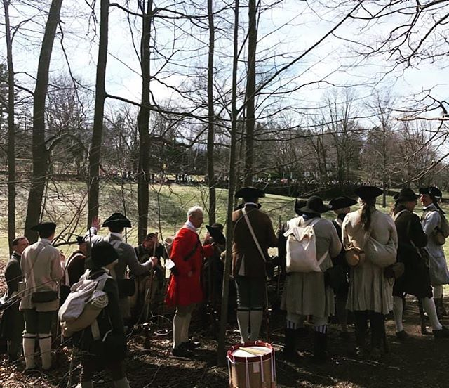 Hold fast men we will win this day if we hold fast! #revolutionarywar #militia #reenactment https://t.co/xDzk6vn3fT