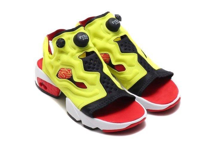 6e996aed6686f reebok se prepare pour les beaux jours en presentant une paire d instapump  fury version sandales