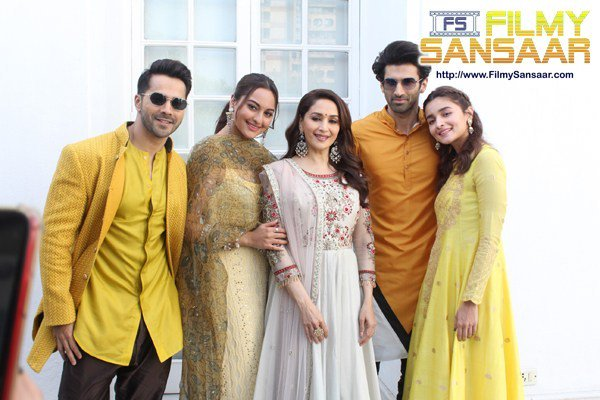 KALANK STAR CAST WITNESSED PROMOTING THEIR MOVIE IN NATIONALCAPITAL