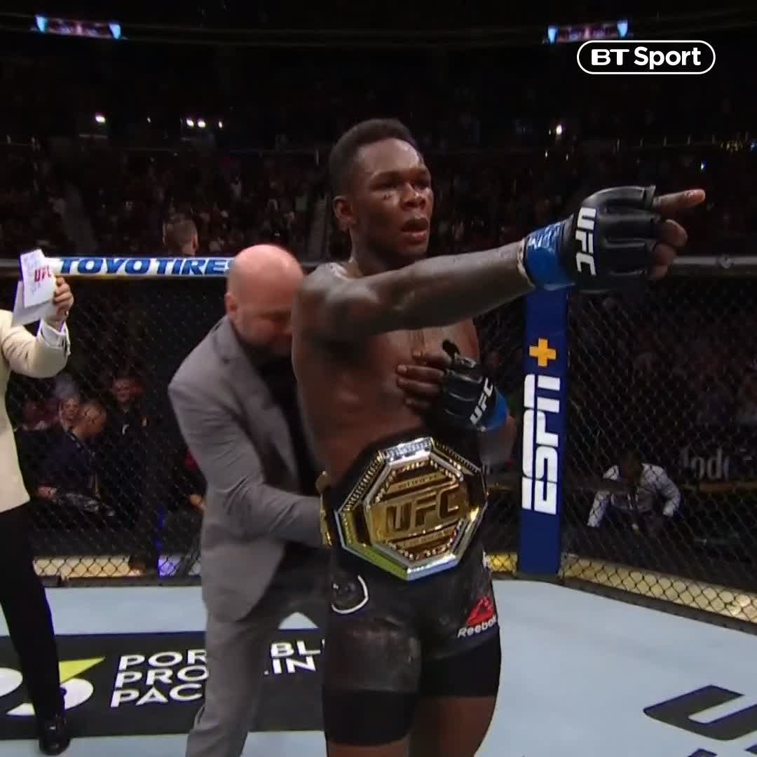Watch UFC 236 live on BT Sport 1 HD's photo on #AndNew