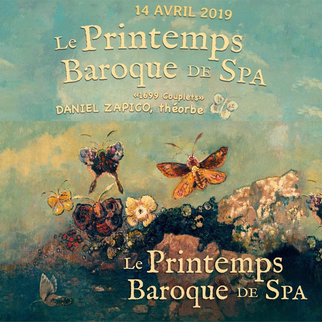 Aujourd'hui à 14h00, recital à Spa! #spa #belgique #Belgium #concert #concerto #concierto #theorbo #théorbe #tiorba #DeVisee #Kapsperger #Kapsberger #musique #musiqueancienne #earlymusic #Baroque #musicaantigua #Barroco https://t.co/bYn94xi6ym