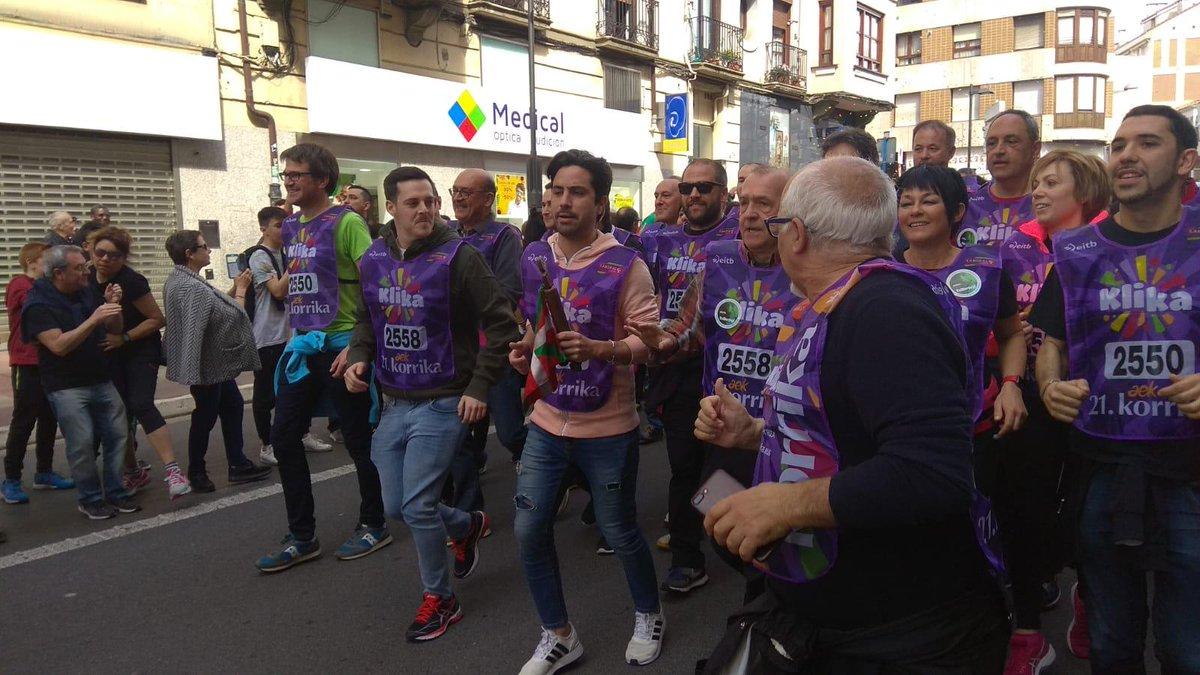@Jonnogales   #KlikaKorrika #VitoriaGasteiz https://t.co/oVgSr1rChi