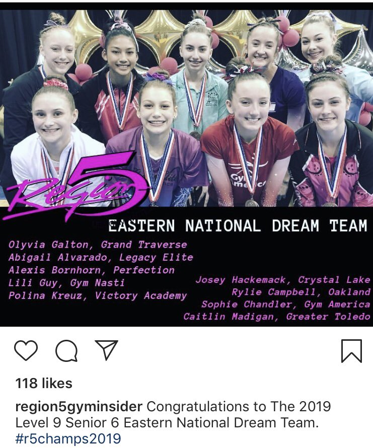 Qualified to Nationals! So proud of you Sophie! Hard work pays off!