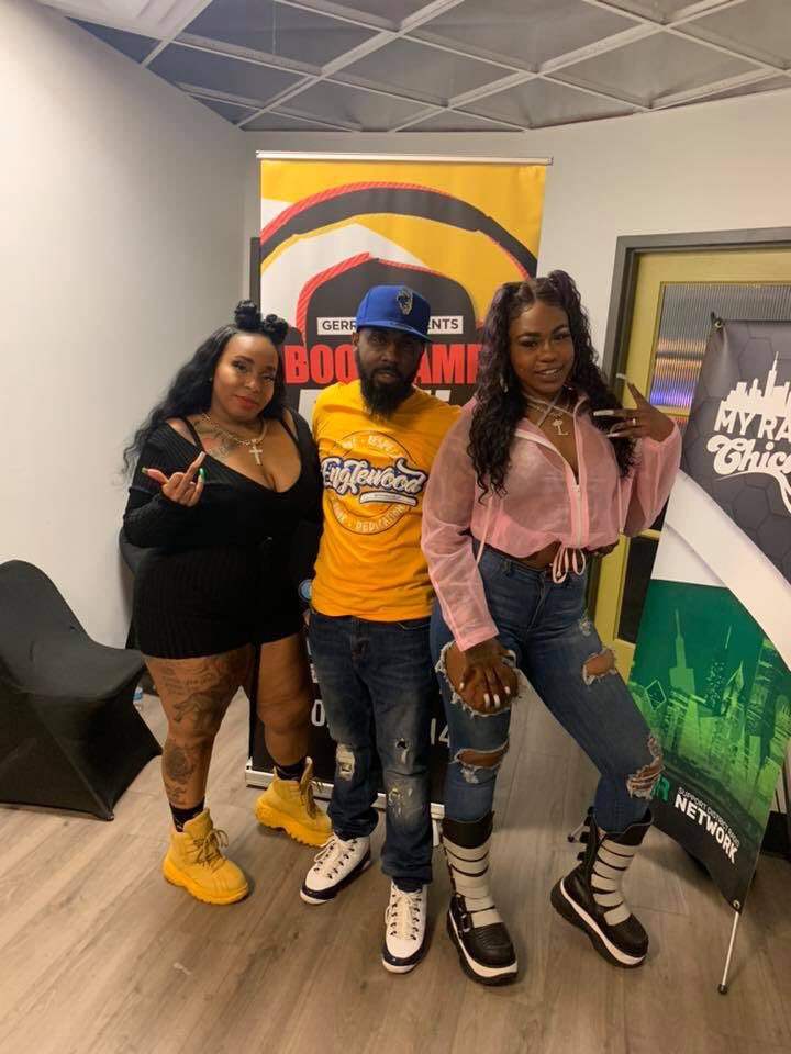 @QueenEnvi x @LucciVee x @englewoodbrnded x @bootcampradio 😍🥰😘 DOPE Interview Friday Night‼️ #LucciVee #QueenEnvi #gerrypentertainment #stackorstarveapproved #beatkrushers #bootcampradio #chicago #hiphop