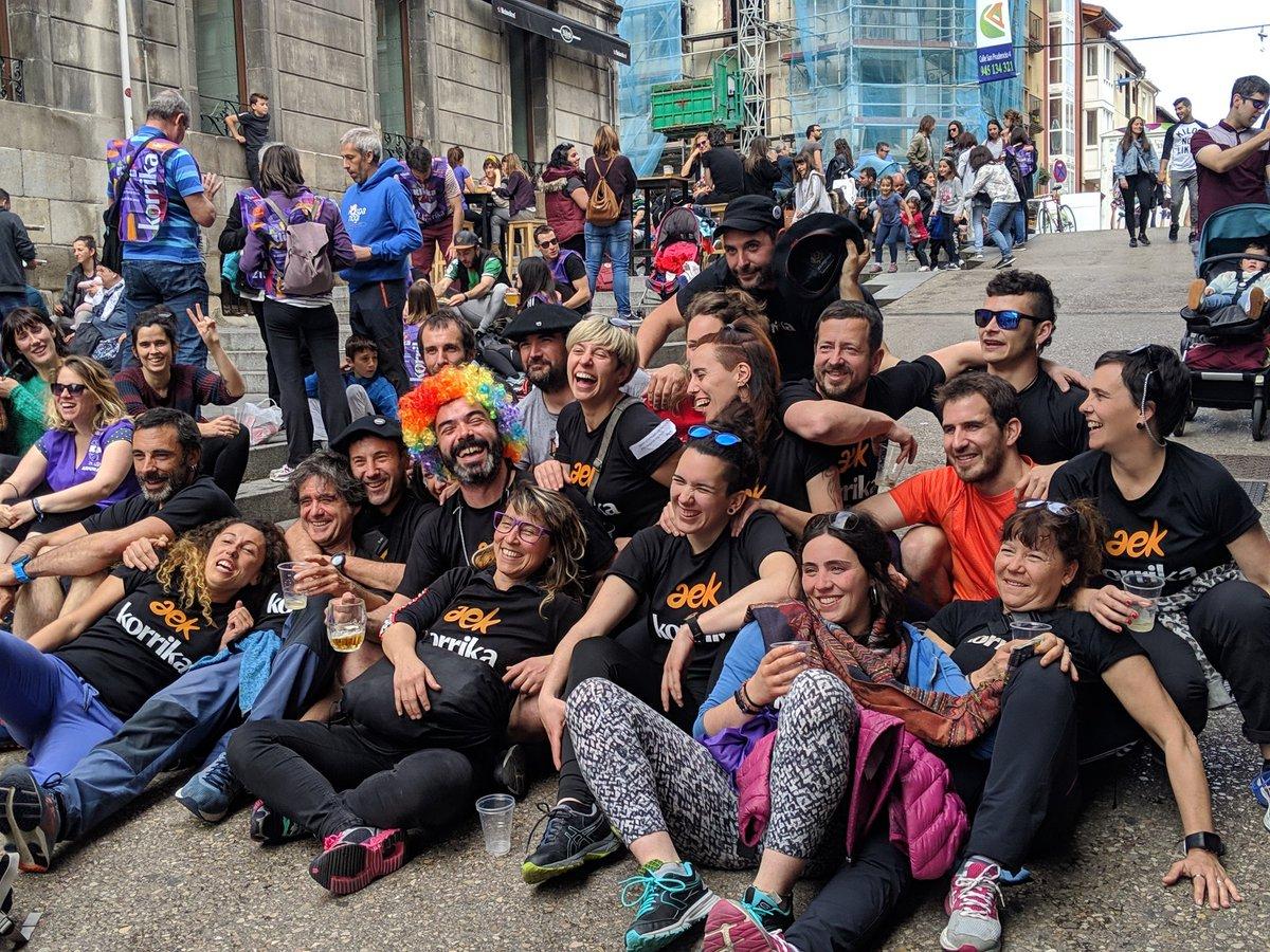 Zuek izan zarete euskararen iparrorratz 11 egun hauetan #klika #Korrika21