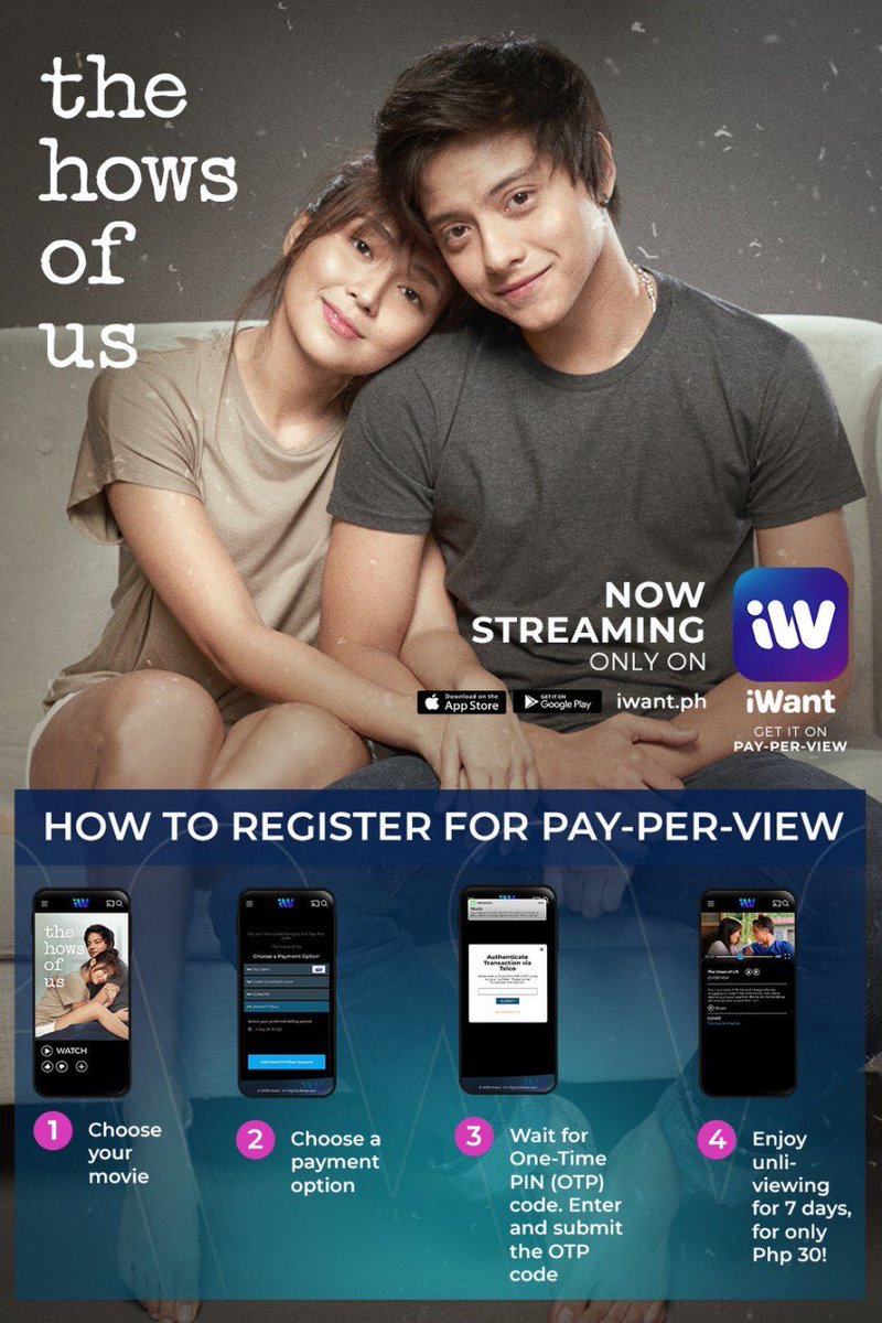 Kathniel Updates On Twitter The Hows Of Us Is Up For Streaming In