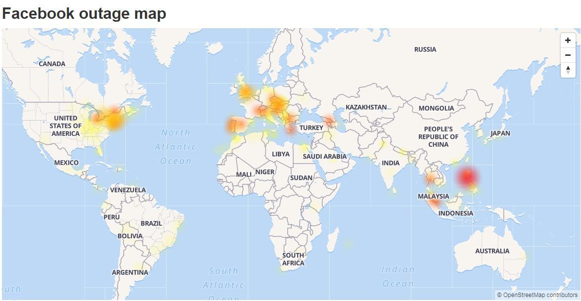 Vypadek Instagramu Facebook: Facebook, Instagram A WhatsApp Se Potýkaly S Výpadky Po