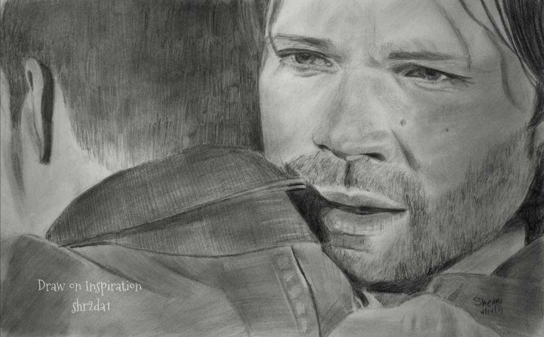 Pencil sketch from Prophet and Loss. #SPNFamily @WinchesterBros @FangasmSPN @SuperWiki @jarpad<br>http://pic.twitter.com/mQGBK4yqLY
