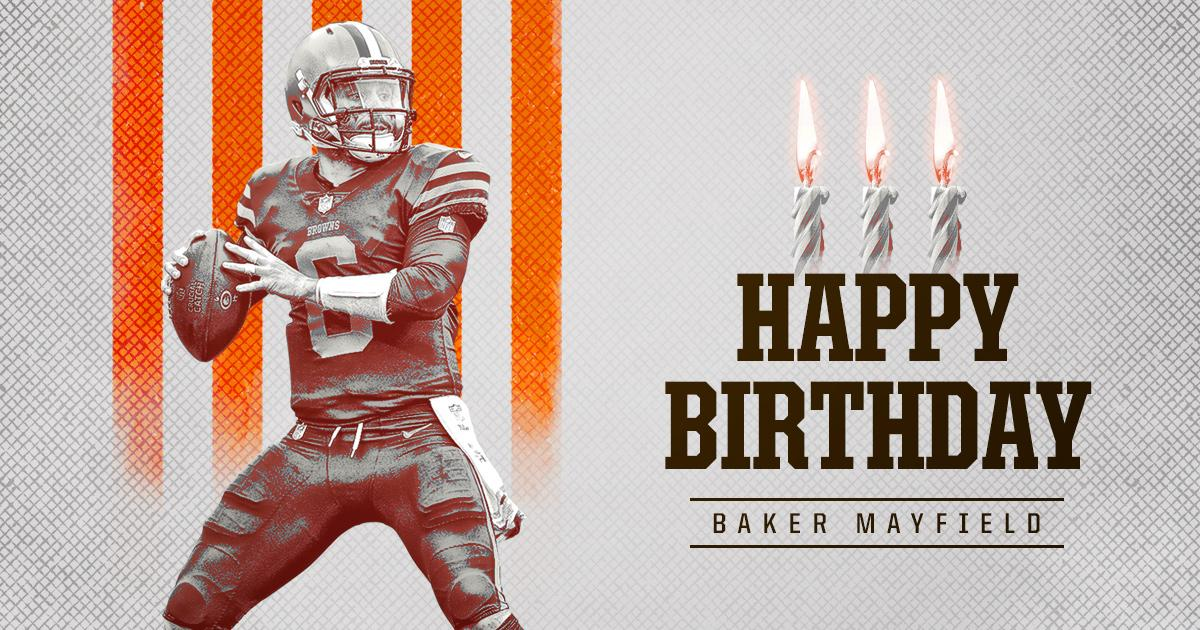 🎉 RT to wish @bakermayfield a Happy Birthday! 🎉