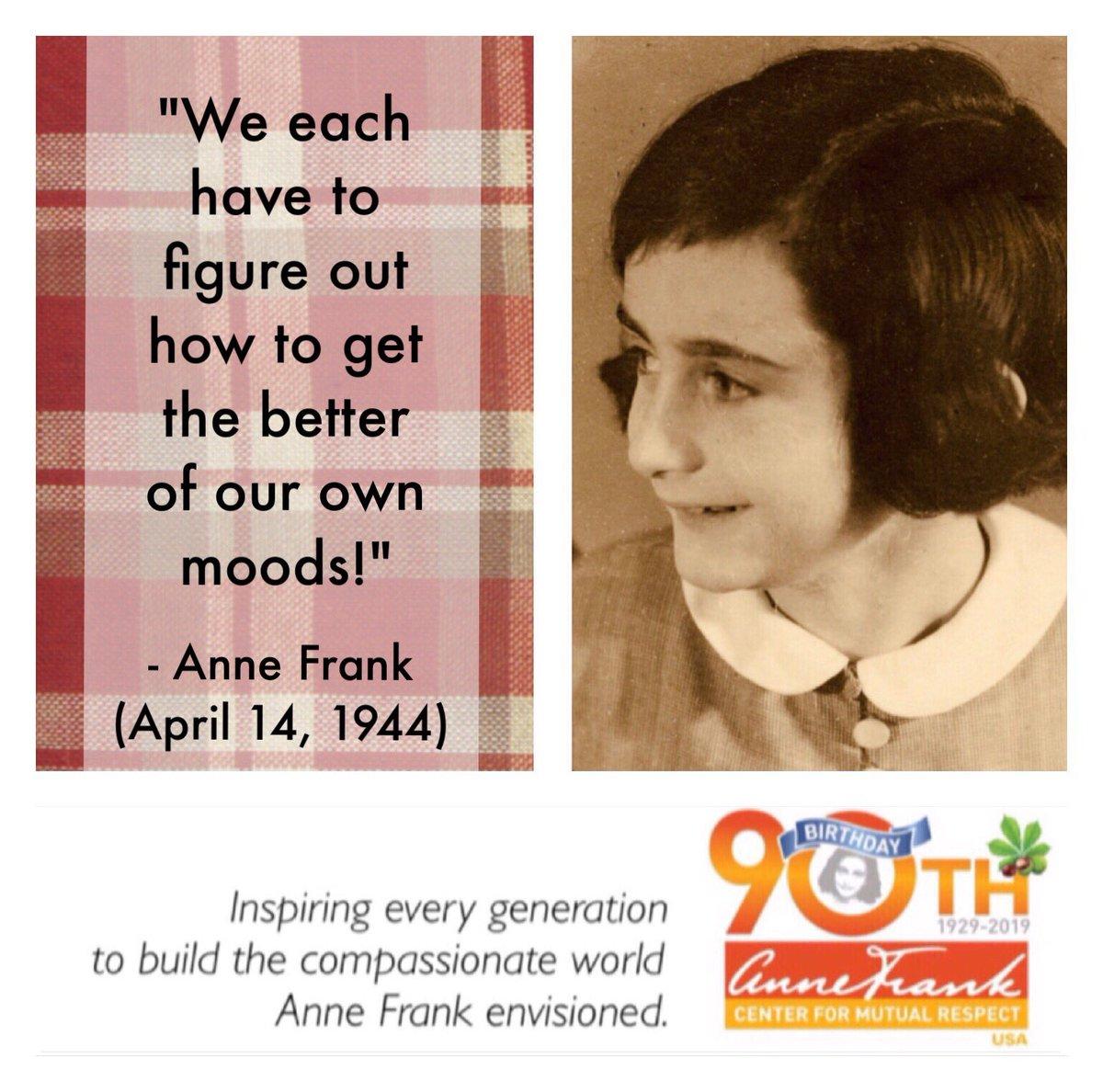Anne Frank Center on Twitter: