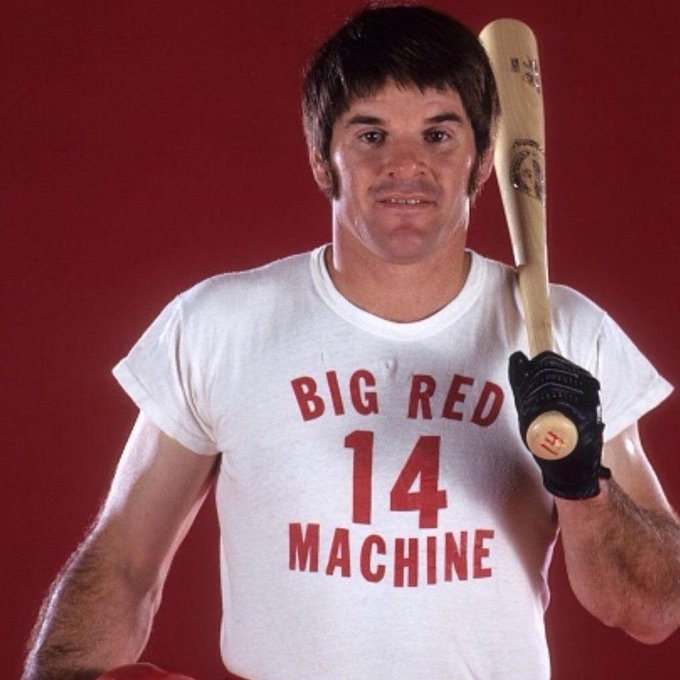 Happy 78th birthday to the Hit King - Charlie Hustle - Pete Rose