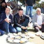 Image for the Tweet beginning: Kınık Yayakent'te gerçekleşen köy hayrına